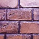 Running Bond Used Brick stamp concrete pattern by regional concrete of rochester ny