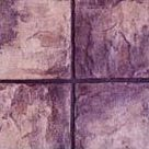 Slate Tile stamp concrete pattern by regional concrete of rochester ny