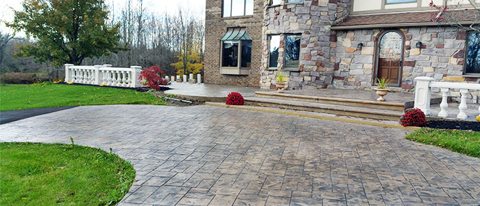 Concrete Patios Rochester NY