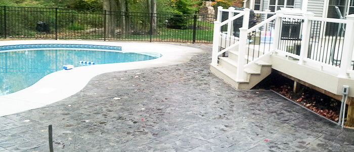 Custom Concrete Patios Rochester NY