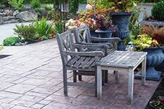 Quaint Garden Patios