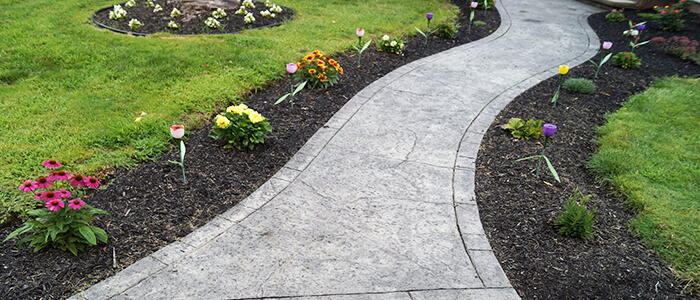 Stamped Concrete Driveway Installation Rochester